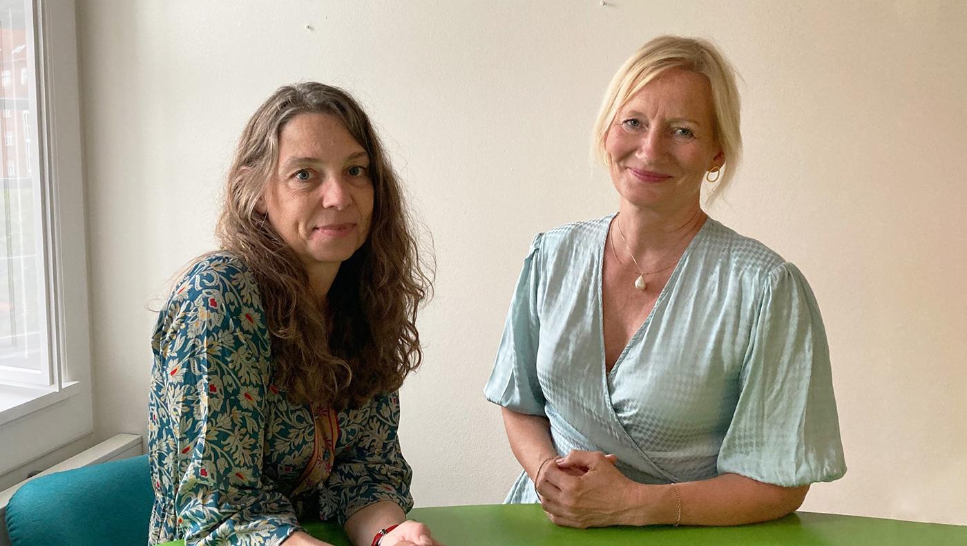 Nana Katrine Vaaben og Ghita Vejlebo