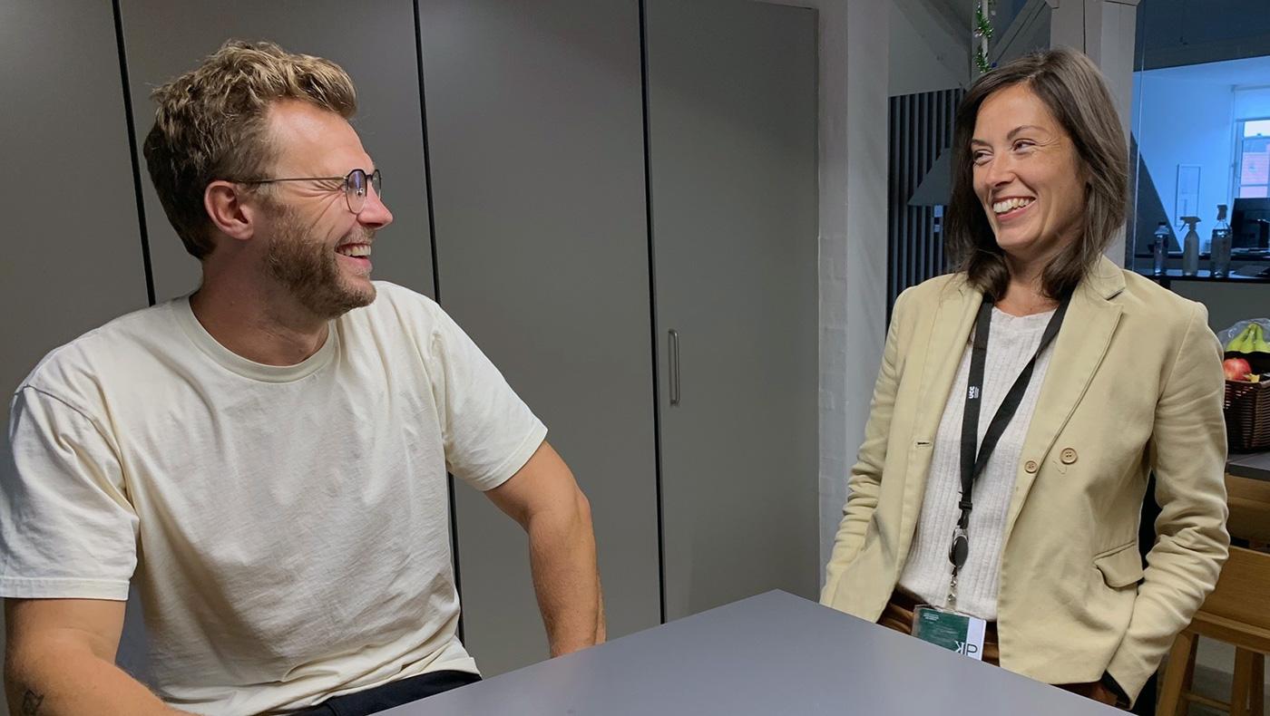 Rasmus Kjær og Thea Thøgersen