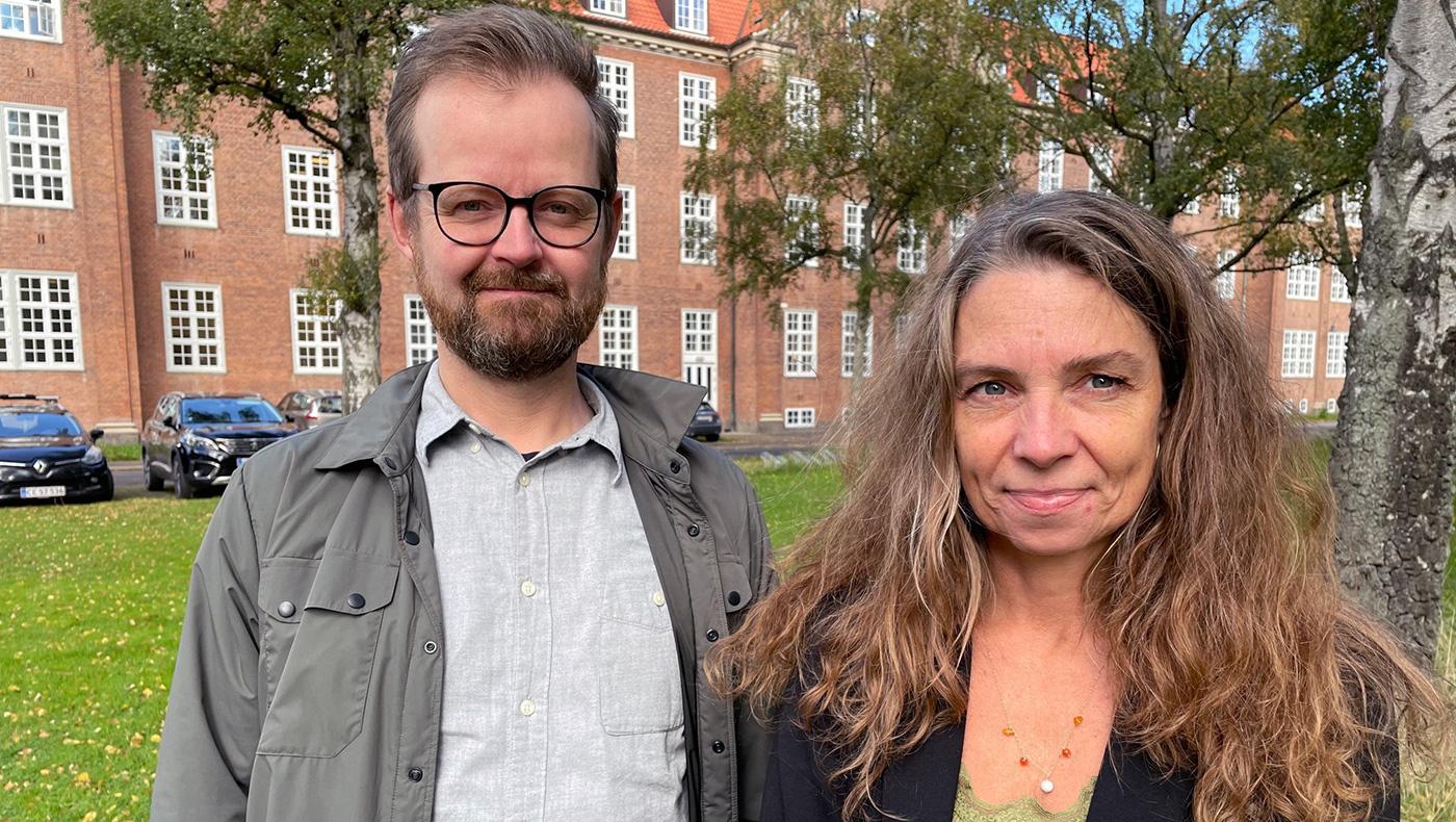 Kristian Gylling Olesen og Nana Vaaben