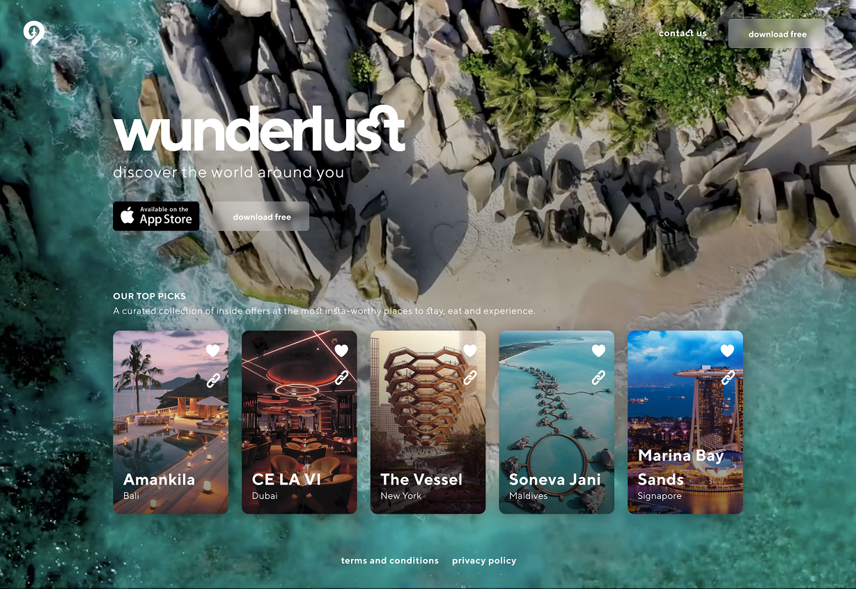 Wunderlust - Discover the world around you
