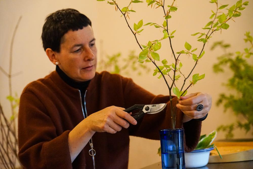 Ikebana Retreat Entspannung Buddhismus Meditation Kunst Zen Zazen