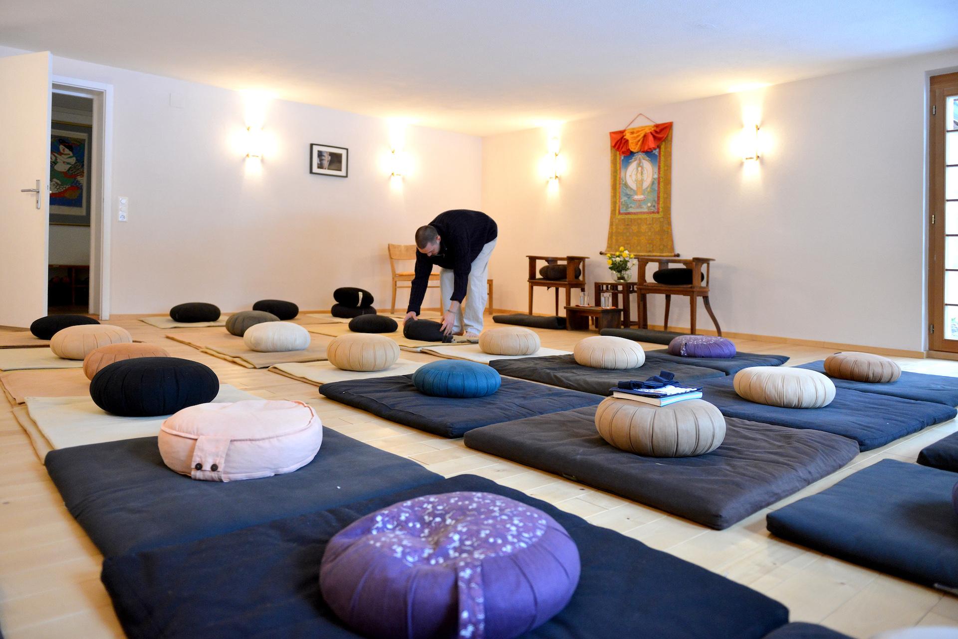 zen zazen meditation johanneshof hotzenhaus dharma sangha baker roshi buddhismus dojo