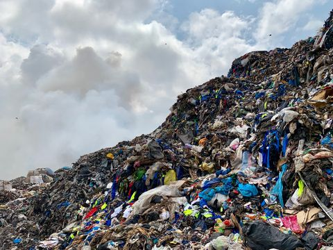 Landfill Donated Clothing Ghana New Standard Institute
