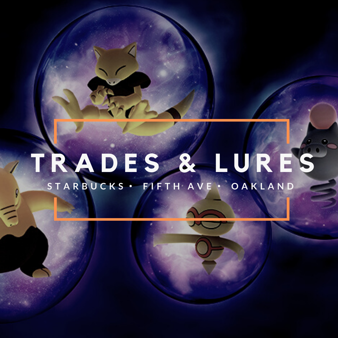 Cancelled: Trades and Lures at Starbucks (Fifth Avenue)