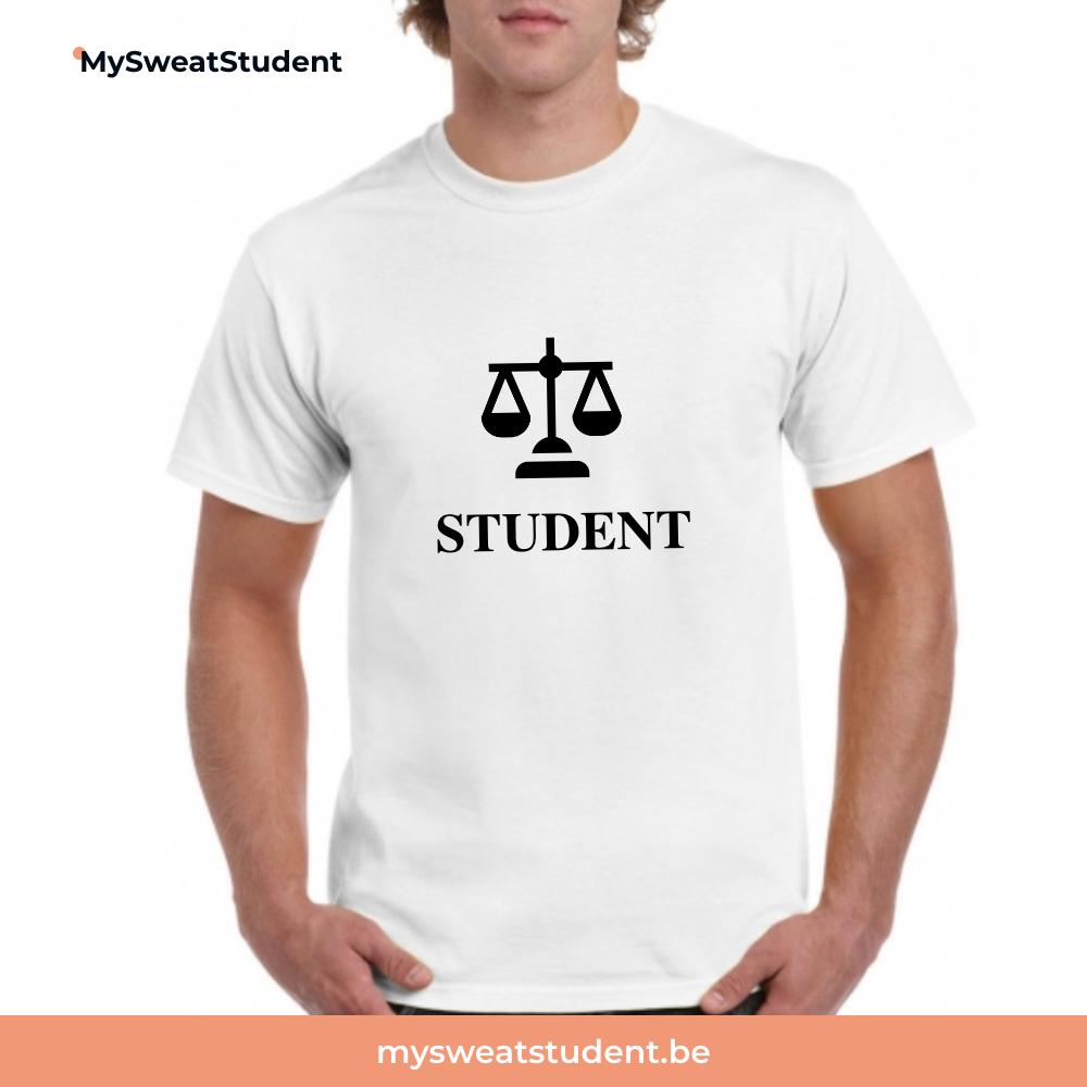 sweat etudiant droit, pull etudiant droit, hoodie student
