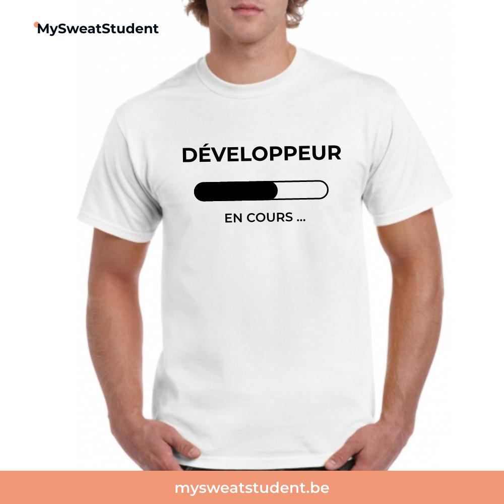 t-shirt etudiant informatique, pull etudiant, hoodie