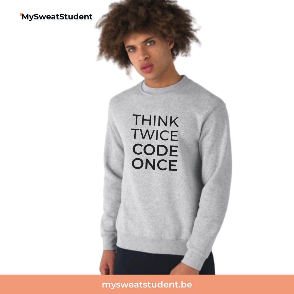 sweat etudiant informatique, pull etudiant, hoodie
