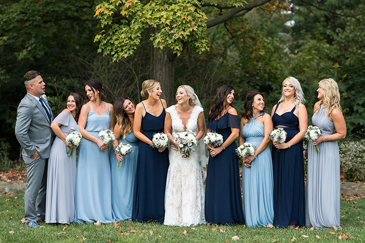 Pittsburgh Wedding Photographer Bridesmaids Laughing