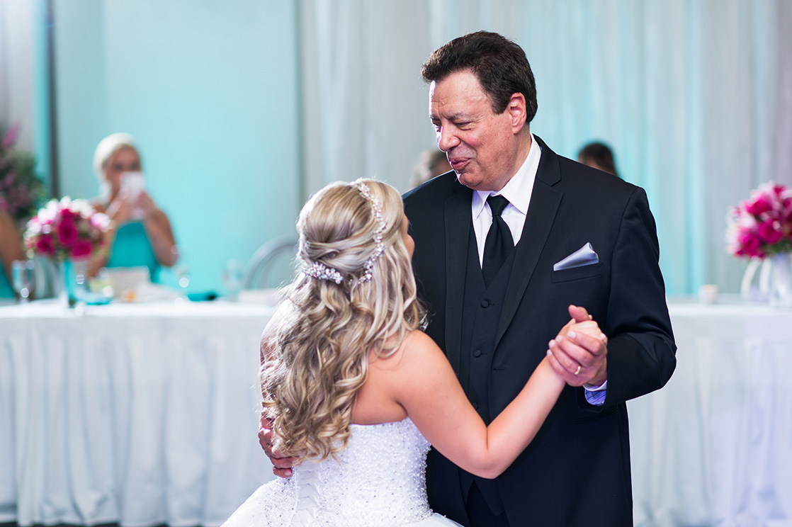 Pittsburgh Wedding Photographer Marriott Airport  Father Daughter Dance