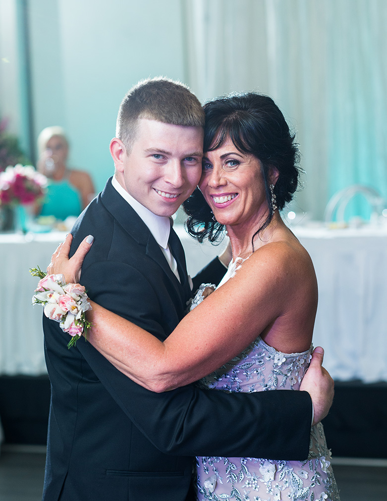 Pittsburgh Wedding Photographer Marriott Airport  Mother Son Dance