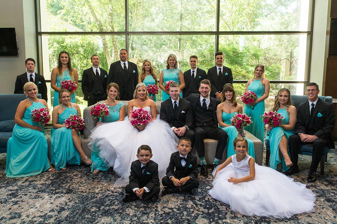 Pittsburgh Wedding Photographer Marriott Airport