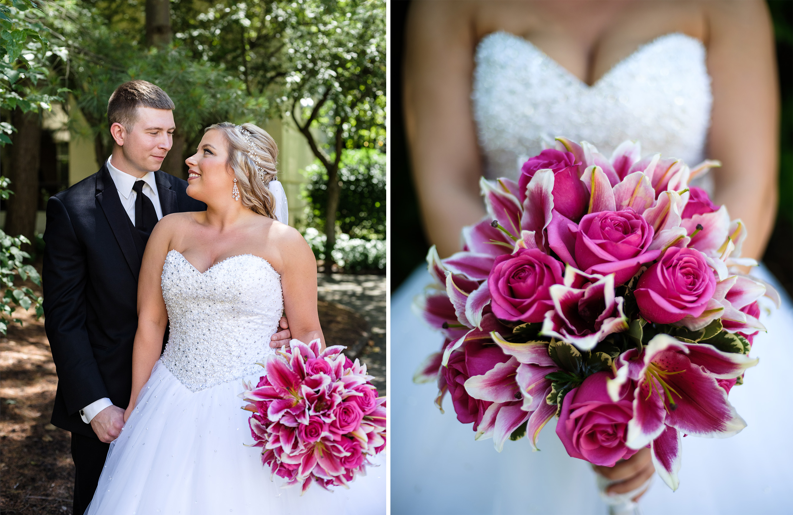 Pittsburgh Wedding Photographer Marriott Airport  Parkway Florist