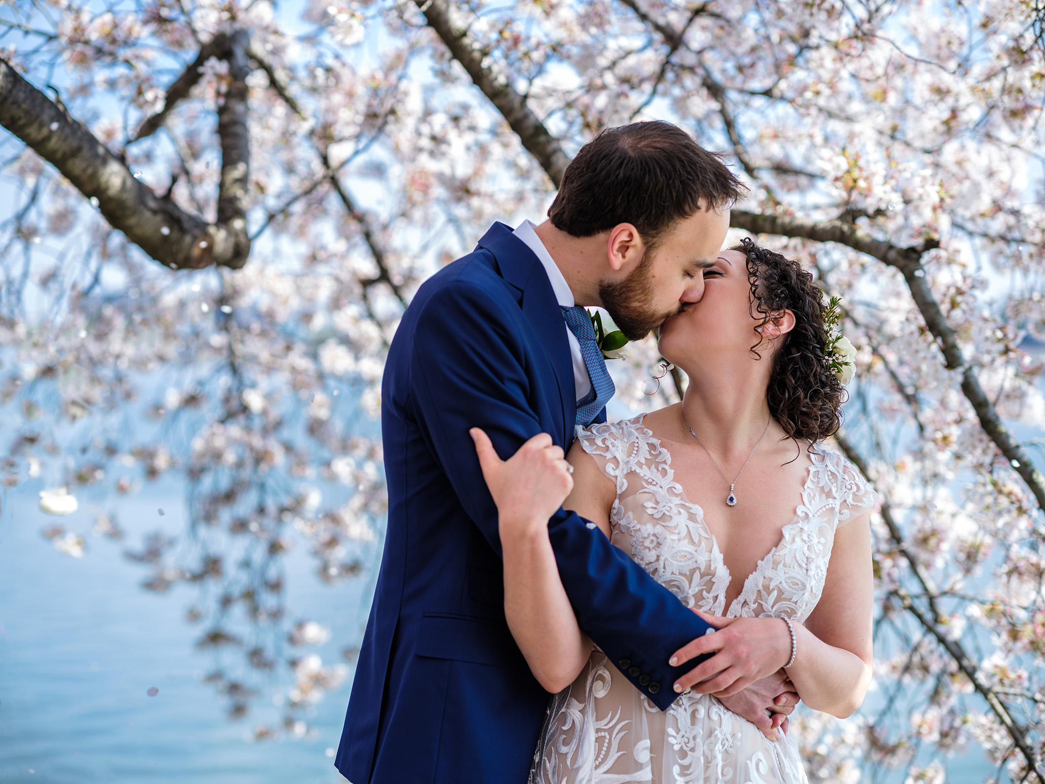 Pittsburgh Washington D.C. Wedding Photographer Cherry Blossoms Tidal Basin
