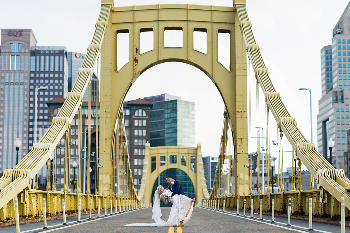 Pittsburgh Wedding Photographer Chase Images Clemente Bridge