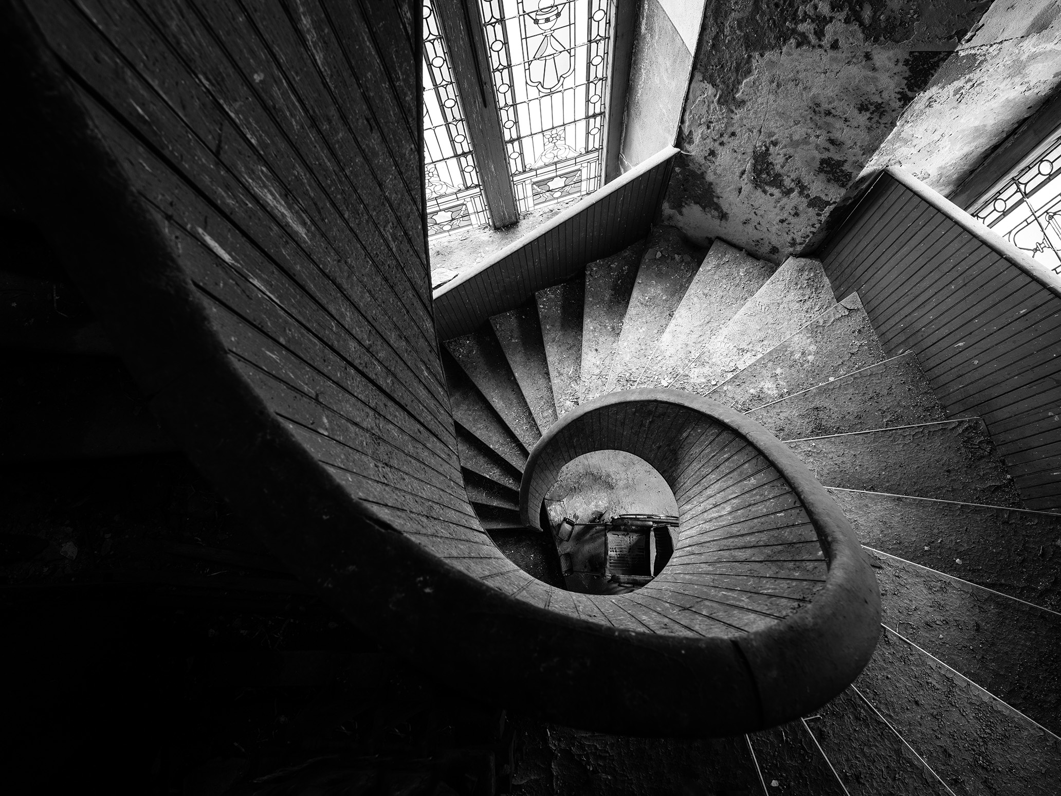 Urbex Landscape Fine Art Pittsburgh Photographer  Spiral