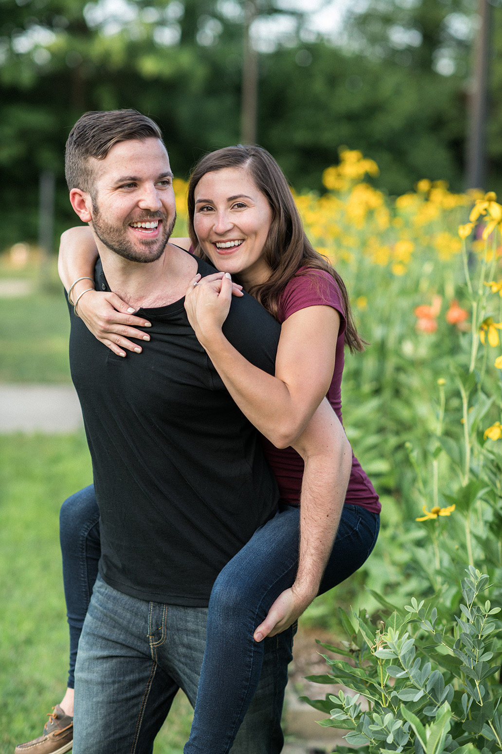 Pittsburgh Engagement Photographer Highland Park