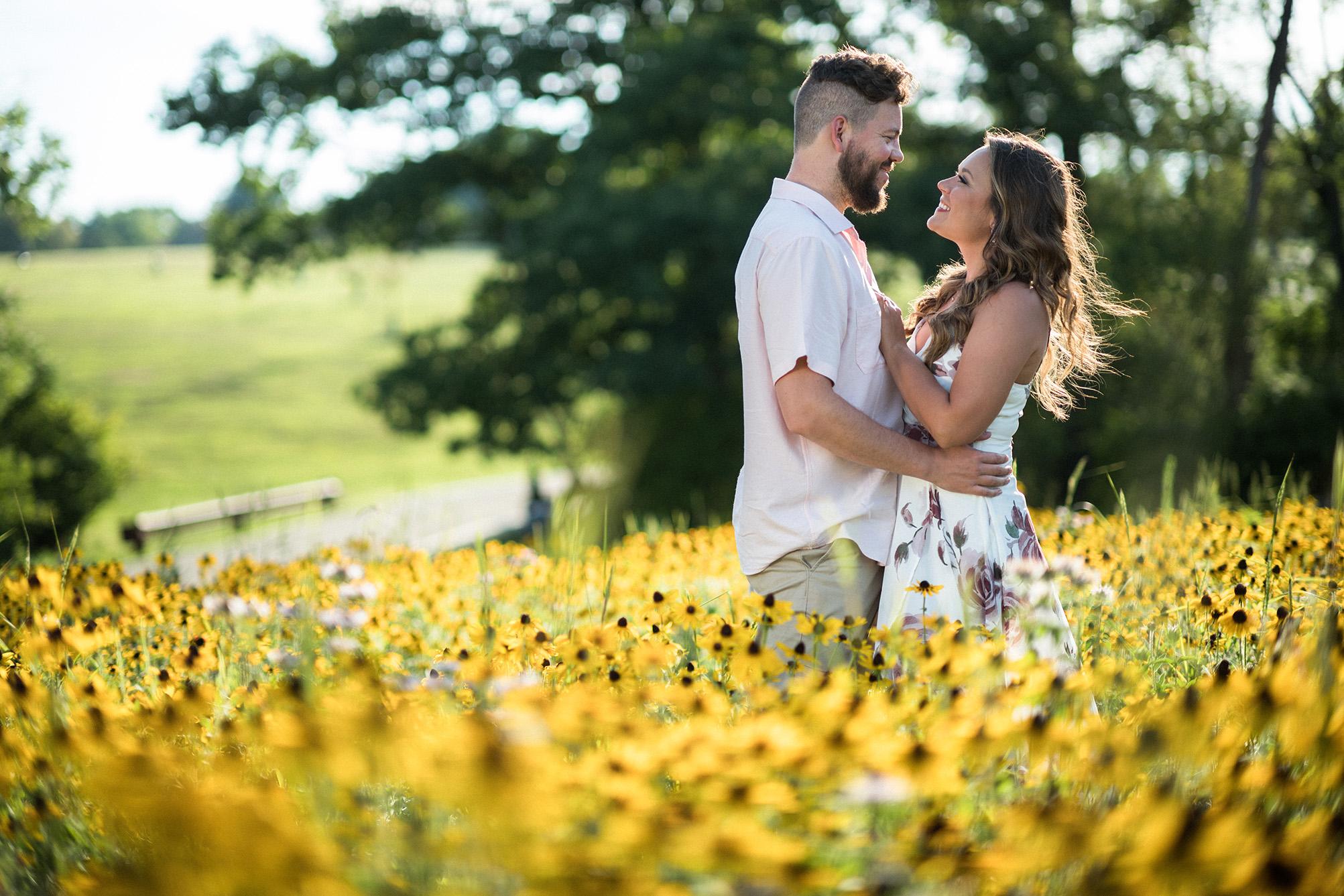Pittsburgh Engagement Photographer Hartwood Acres
