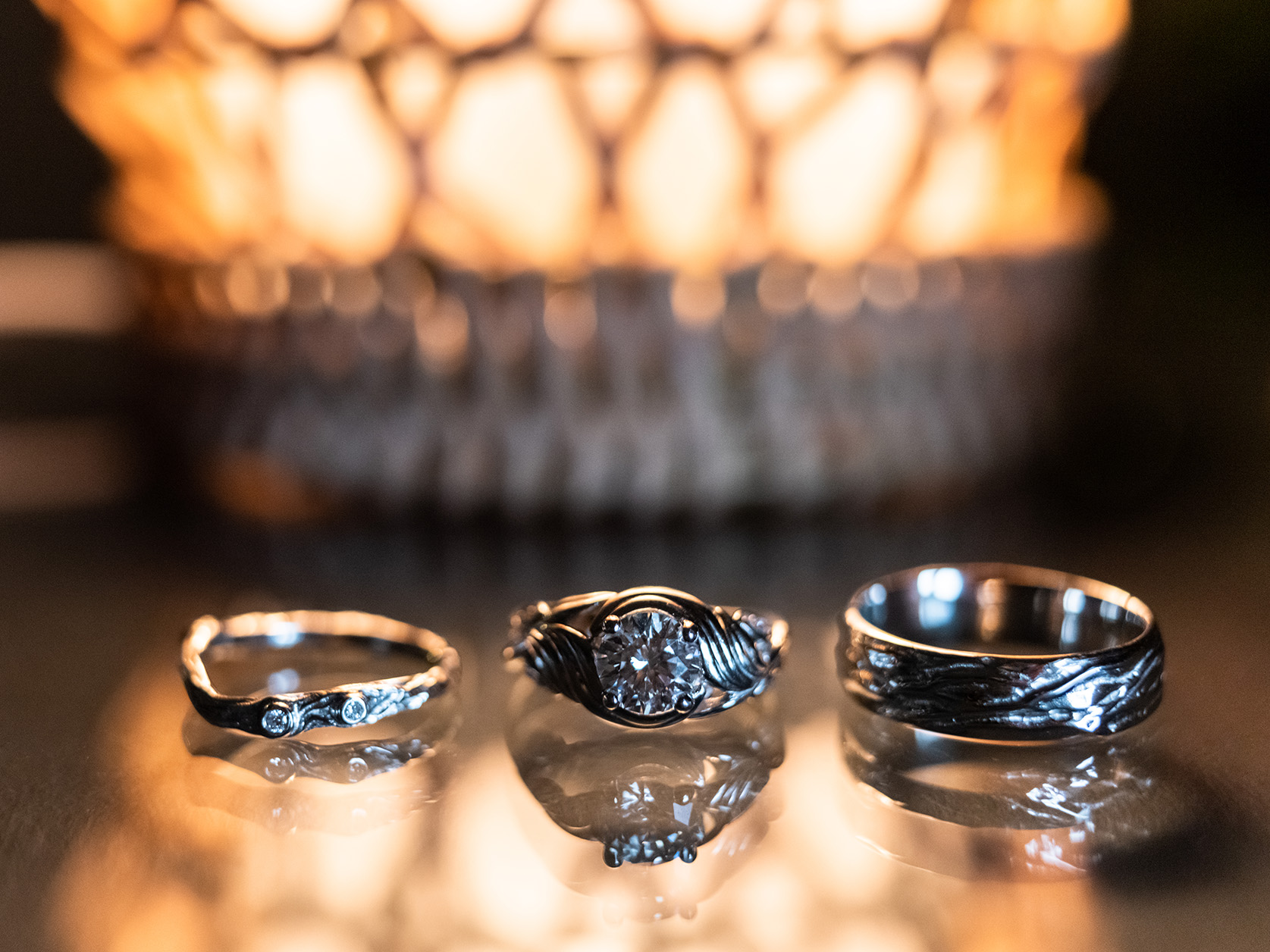 Pittsburgh Wedding Photographer Deep Creek  Rings
