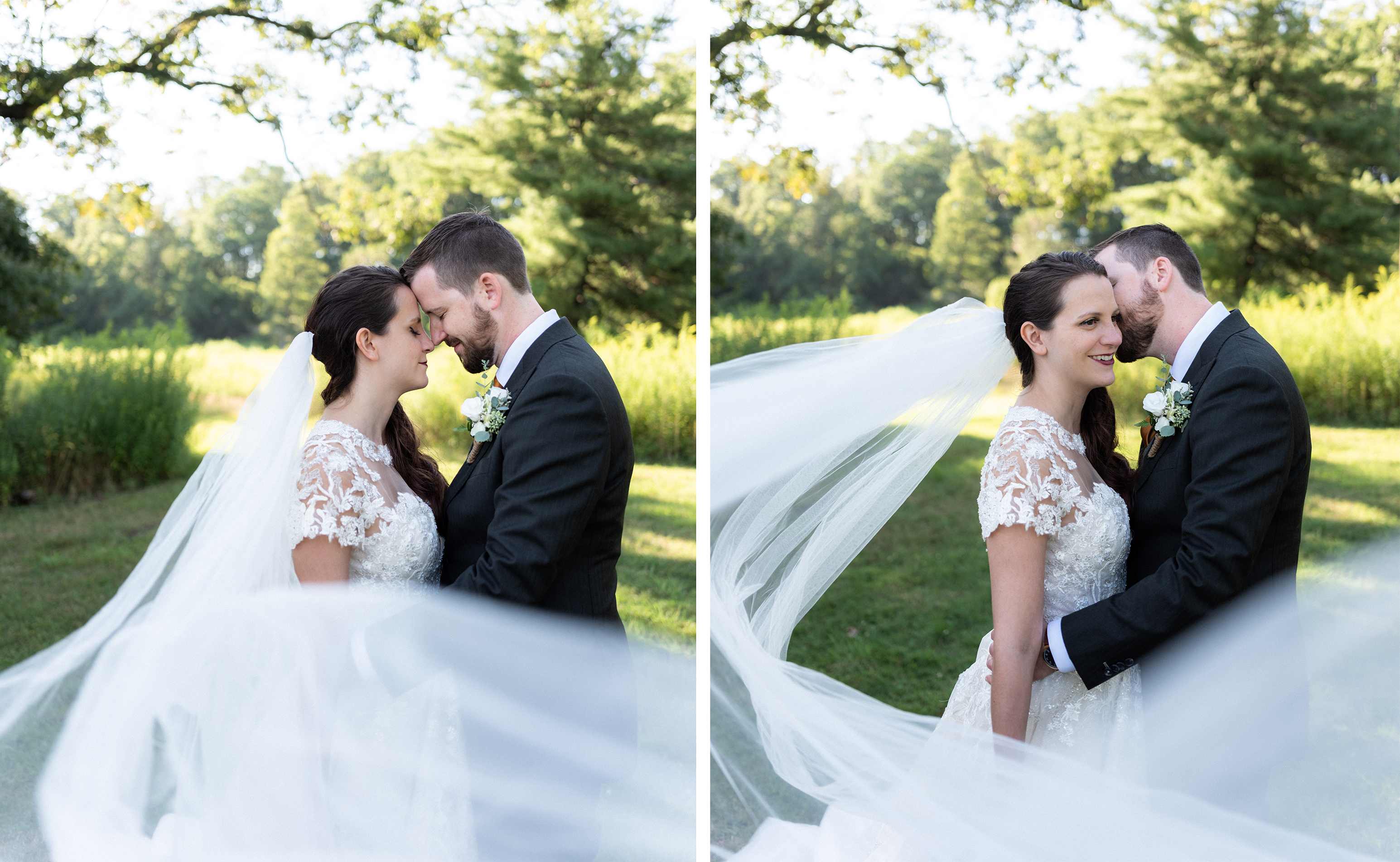 Pittsburgh Wedding Photographer Deep Creek Veil
