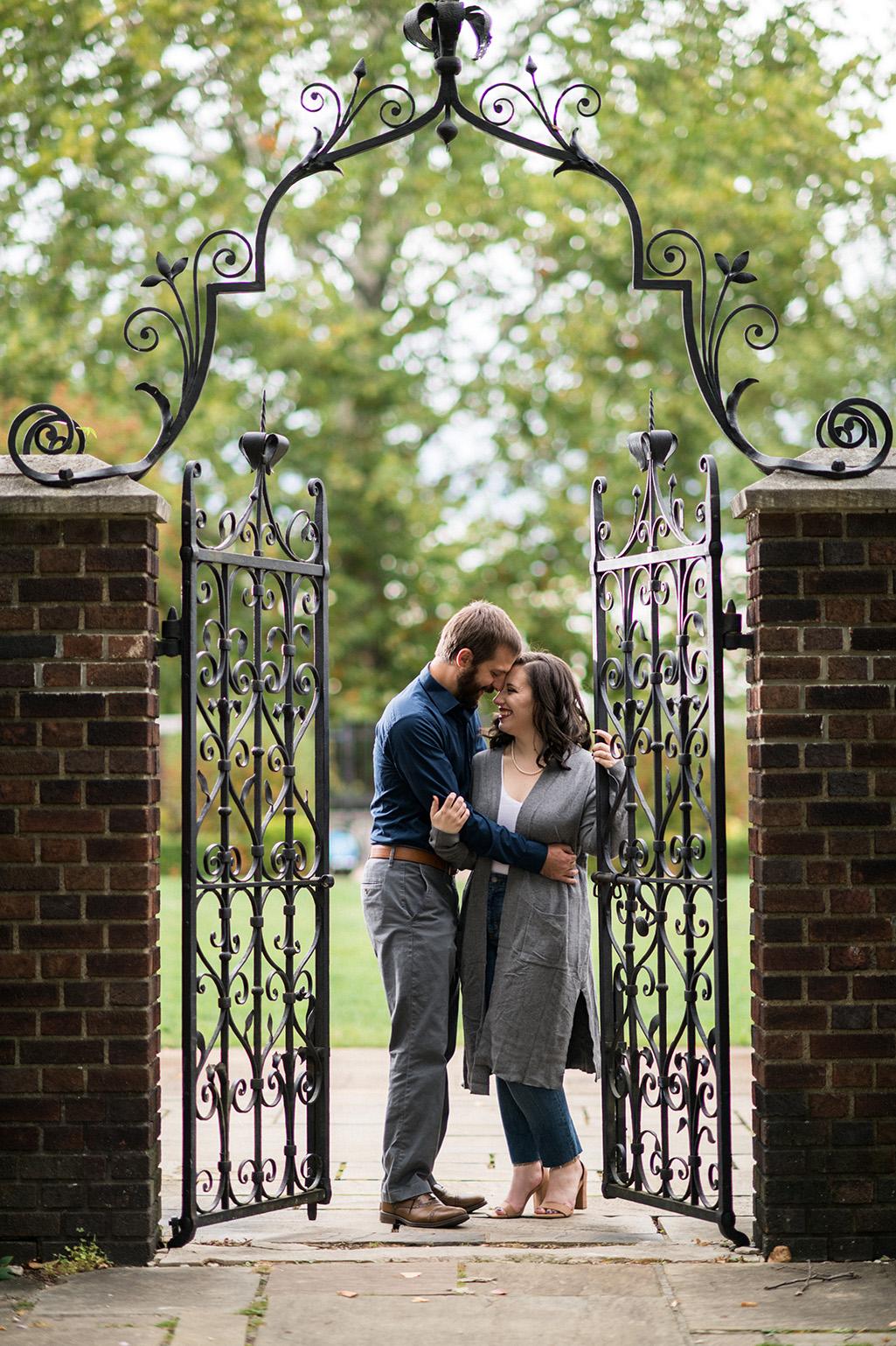 Pittsburgh Engagement Photographer Mellon Park