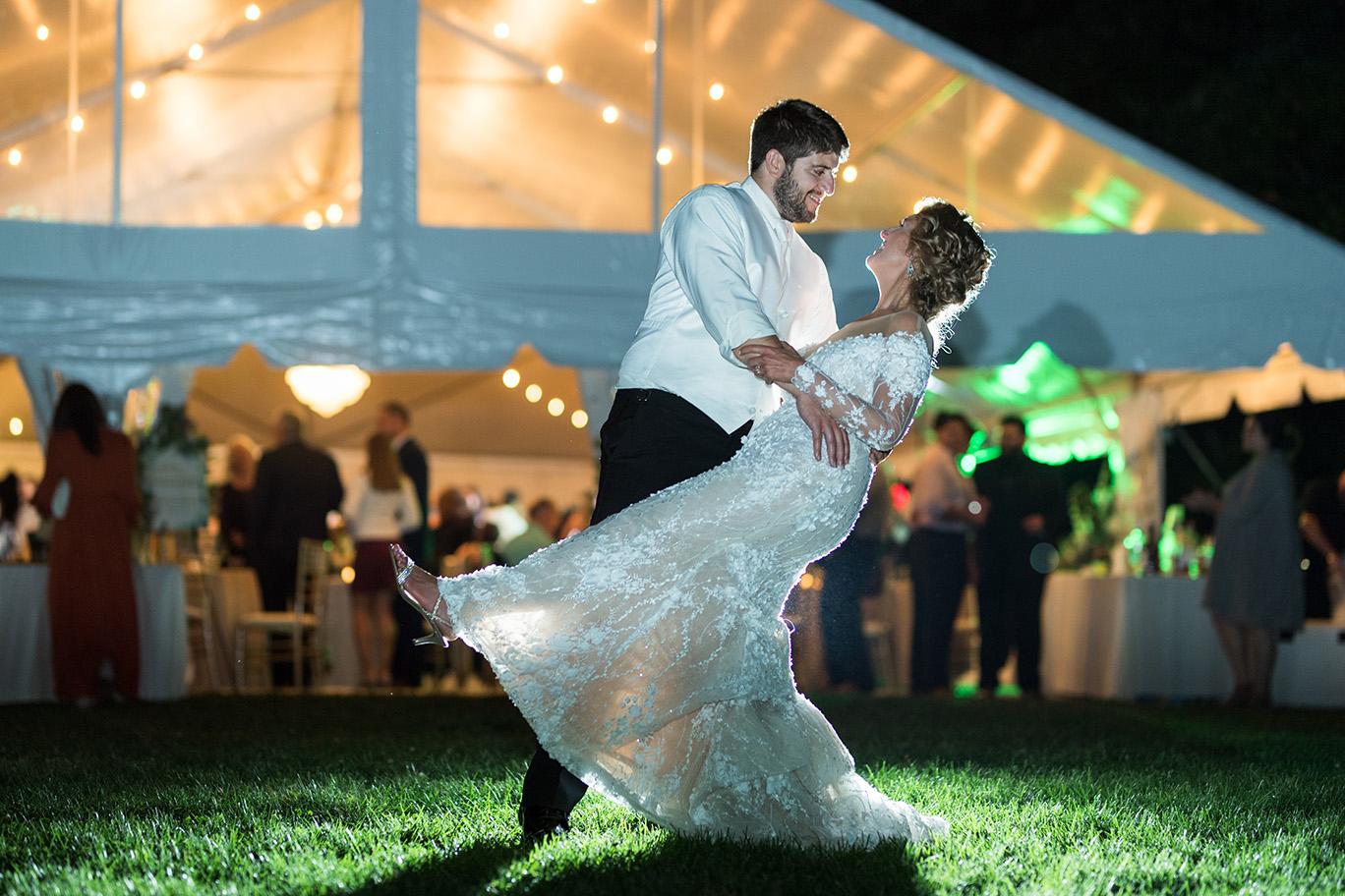Pittsburgh Wedding Photographer Backyard