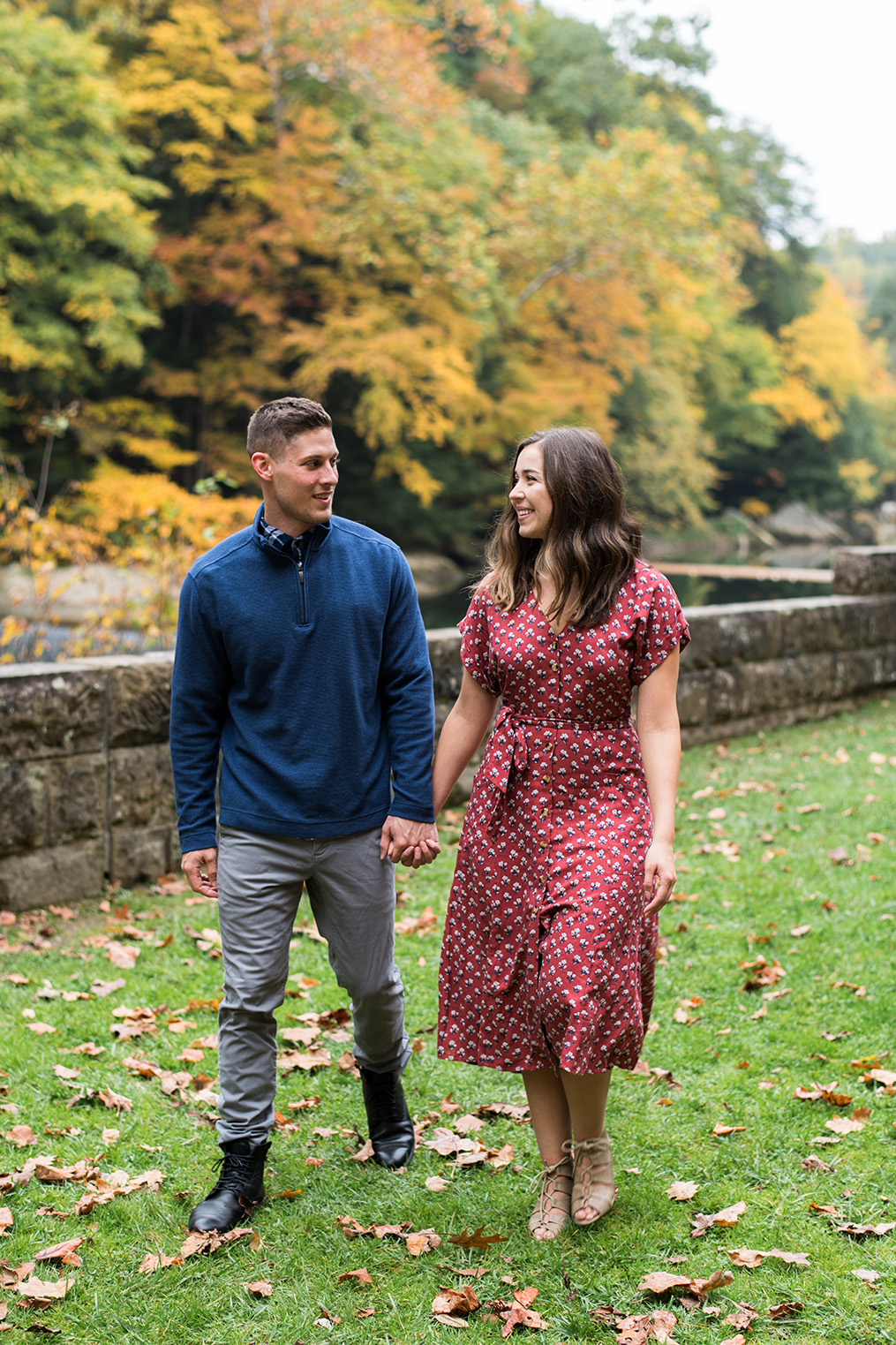 McConnell's Mill Engagement Photography Pittsburgh