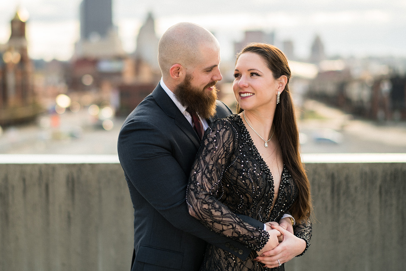 Pittsburgh Engagement Photographer Strip District