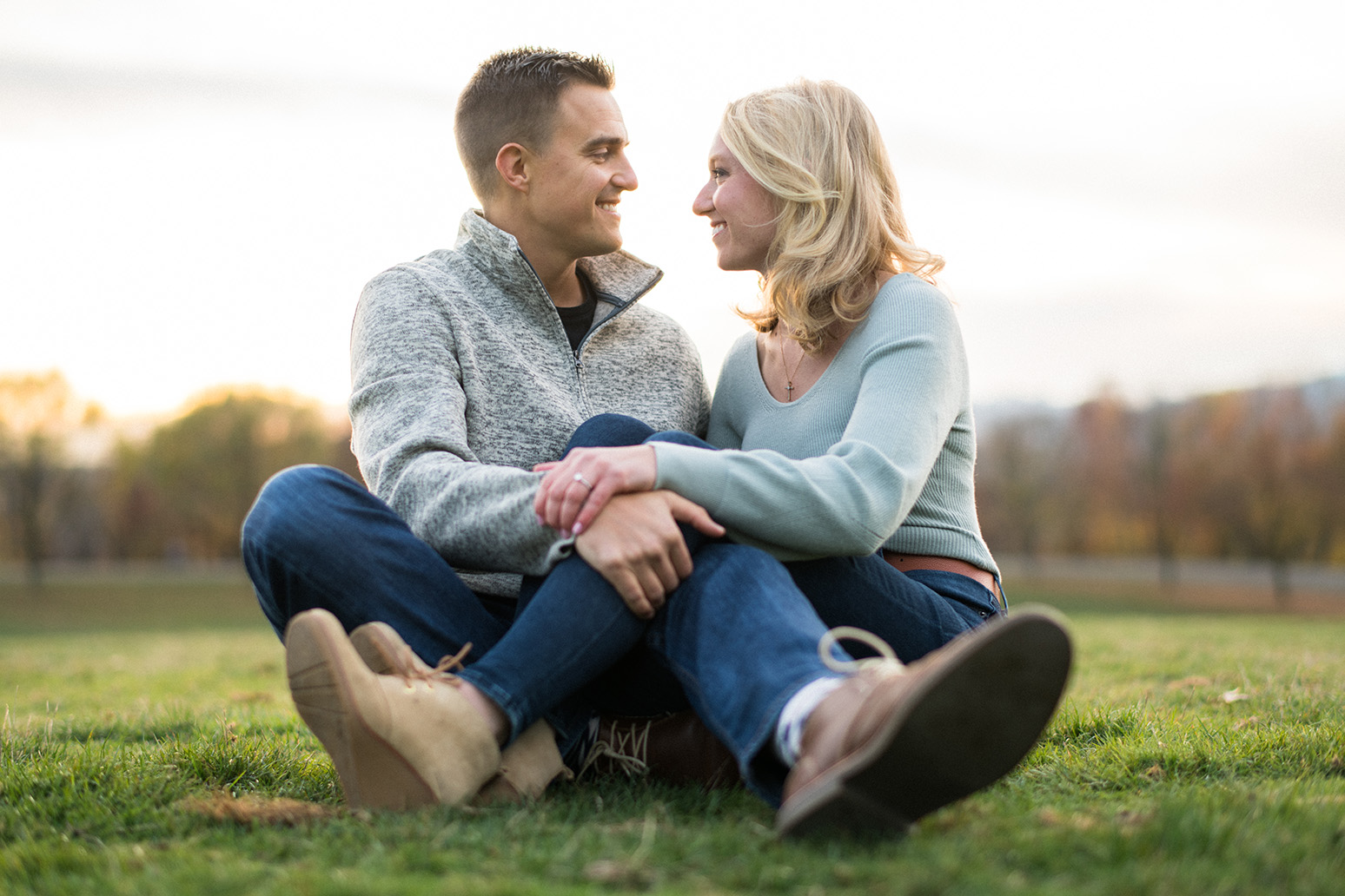 Pittsburgh Engagement Photographer Schenley Park
