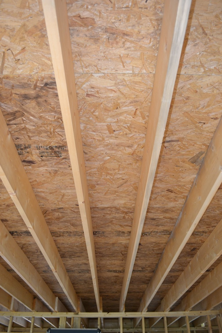Ceiling Joist Cavity, Air Tight Ceiling Plane