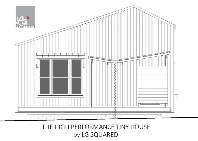 high performance tiny house