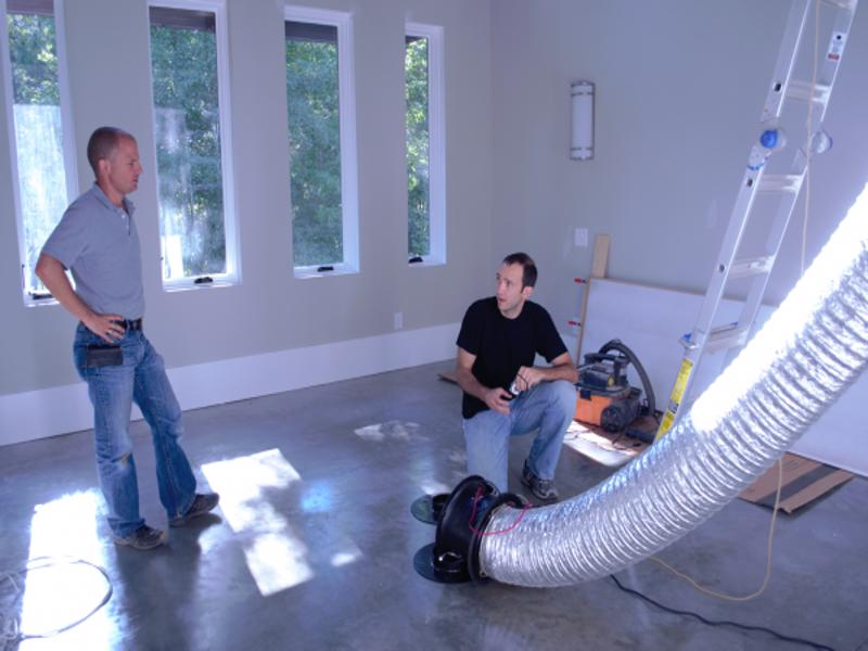 zero energy home testing lg sqaured archi+techs