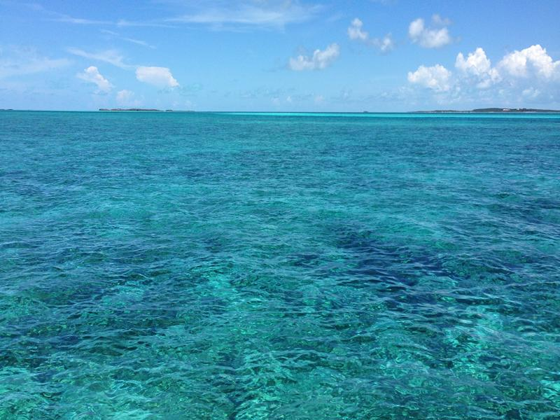 bahamas crystal clear water