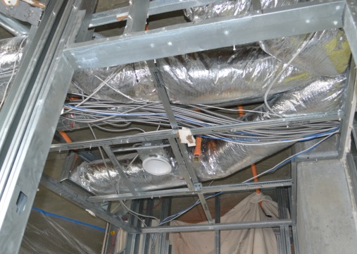 Ductwork Wiring DIY Remodel Renovation LG Squared, Inc. Atlanta
