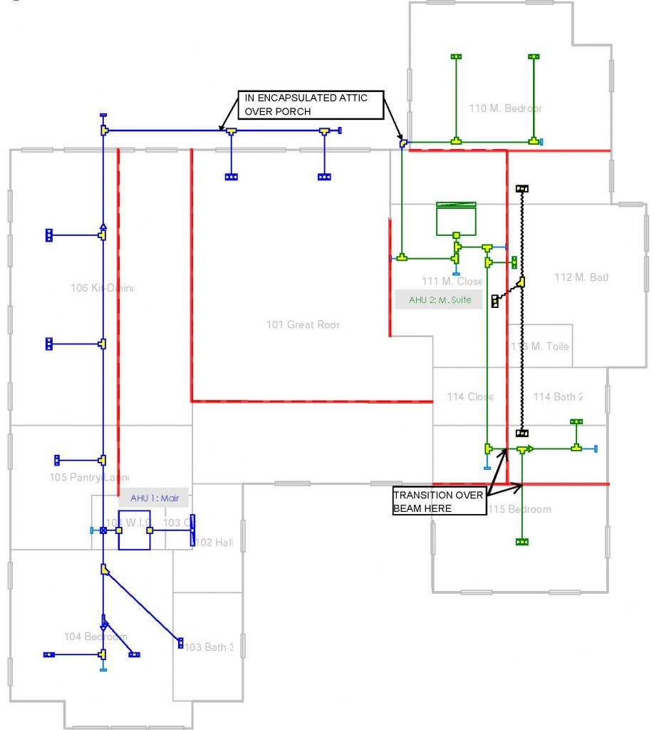 Duct Layout, Why Don't Architects and Designers Care?