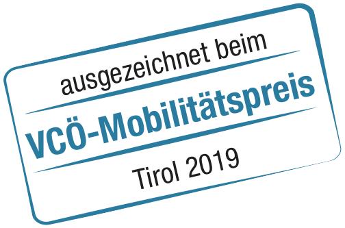 Logo VCÖ Mobilitätspreis