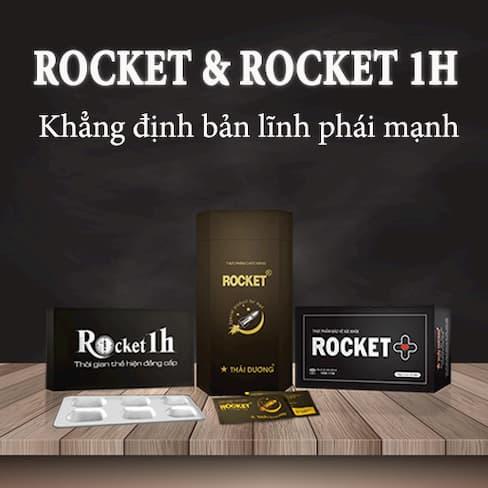 Thuốc kéo dài thời gian quan hệ Rocket 1H