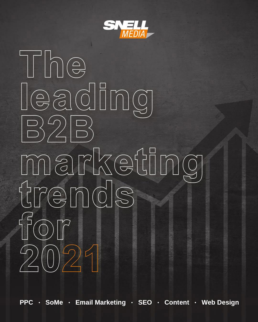 Important B2B Digital Marketing Trends