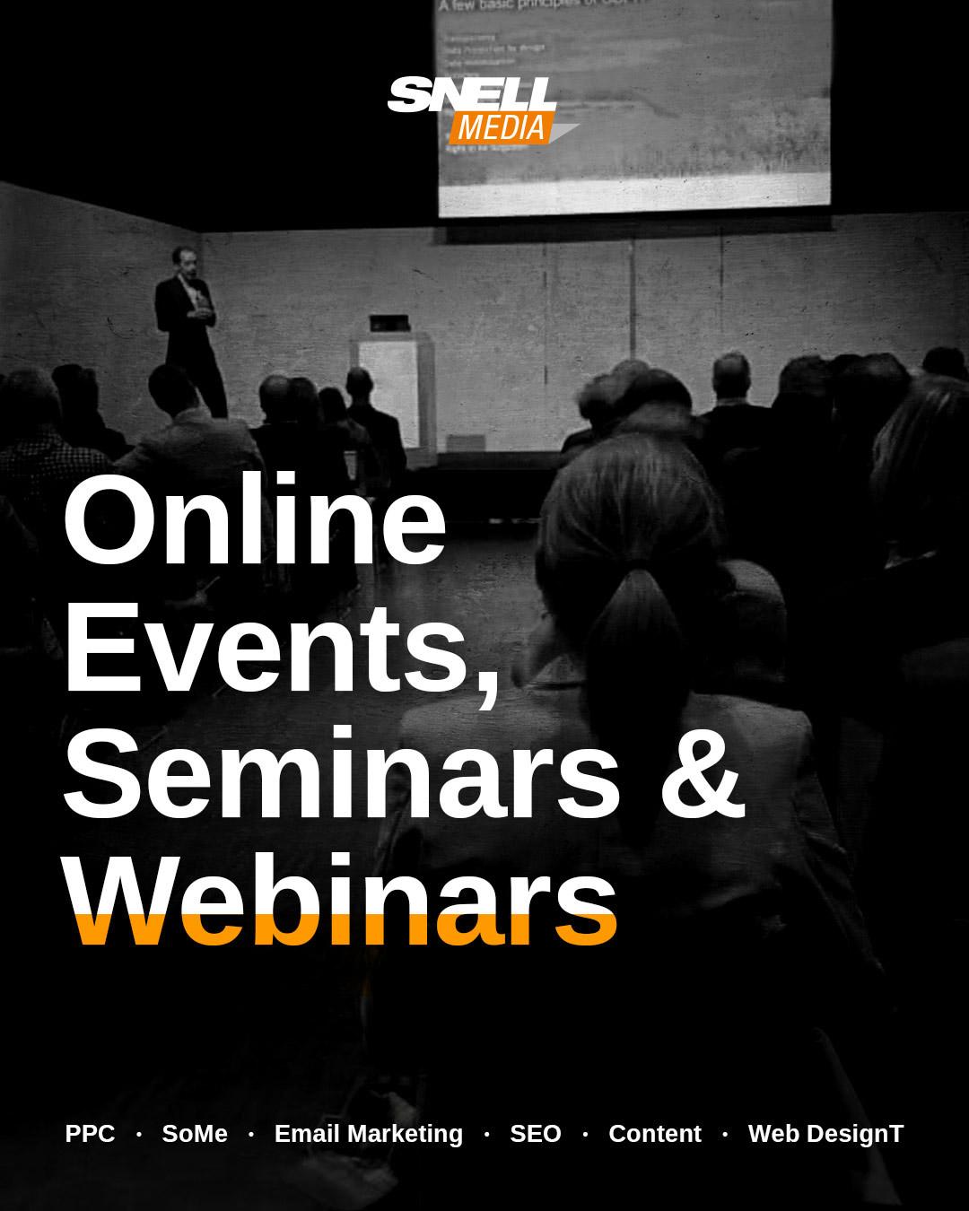 Online Events, Seminars & Webinars 9th B2B Digital Marketing Trend