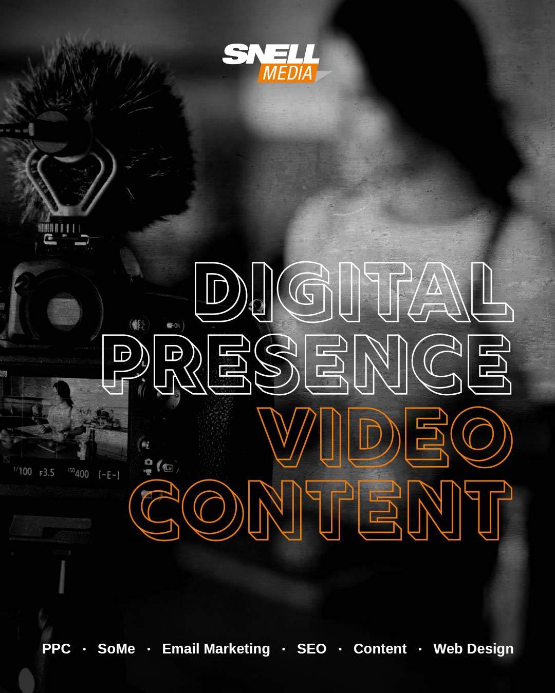 Digital Presence with Video 10th B2B Digital Marketing Trend