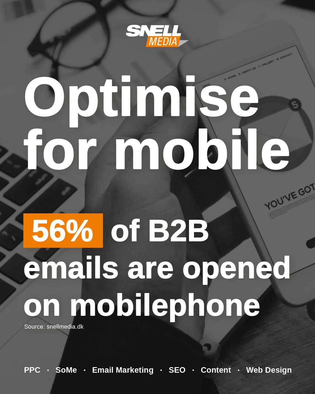 Optimise B2B Email For Mobile
