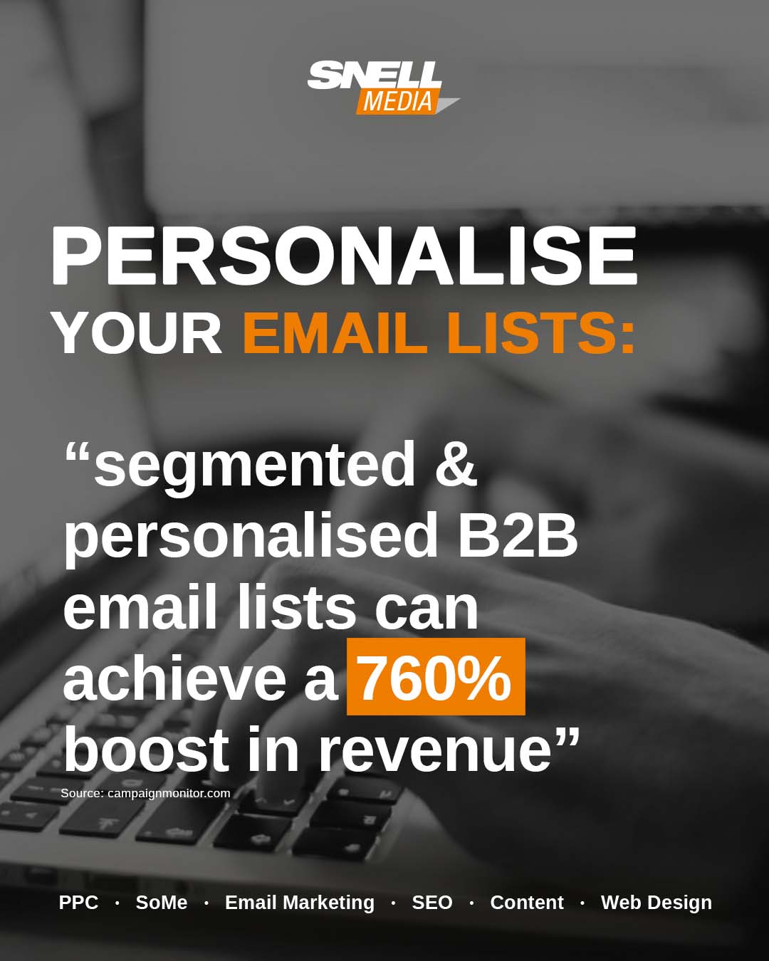 Personalise Your Email Lists