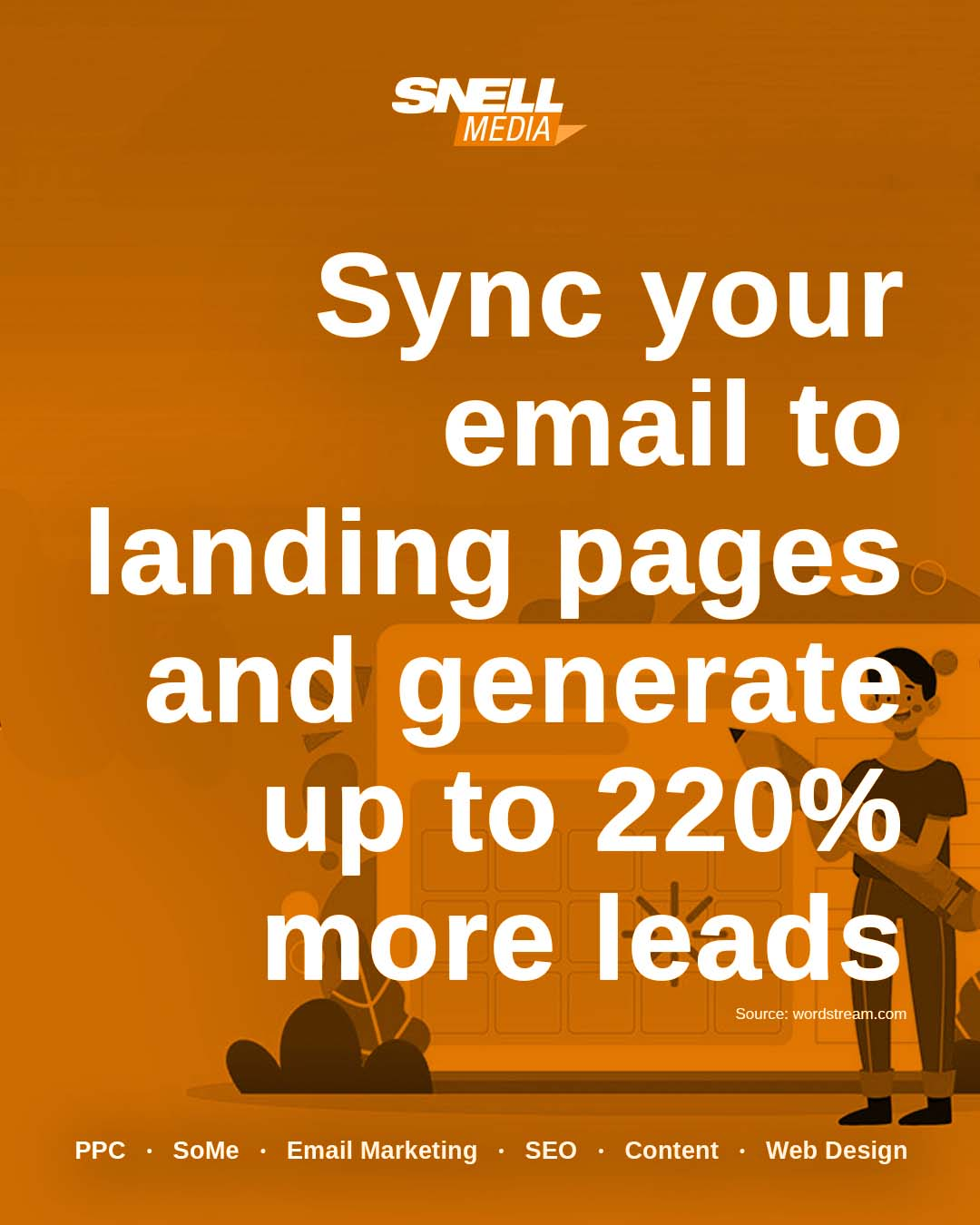Sync Your Email to Landing Pages