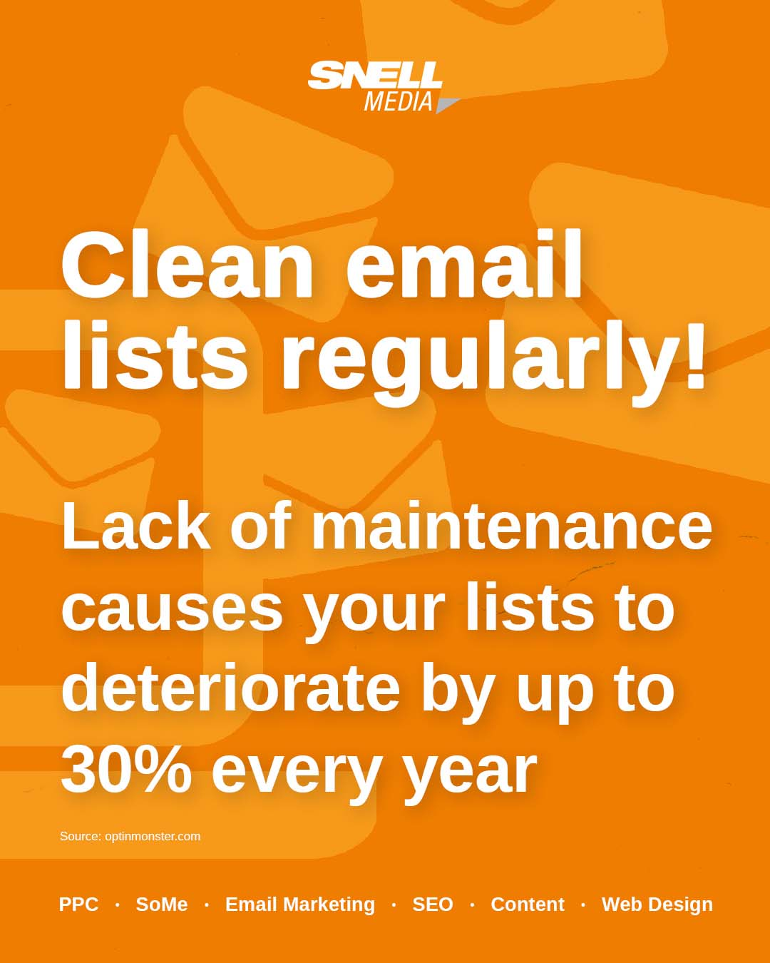 Clean Email Lists Regularly