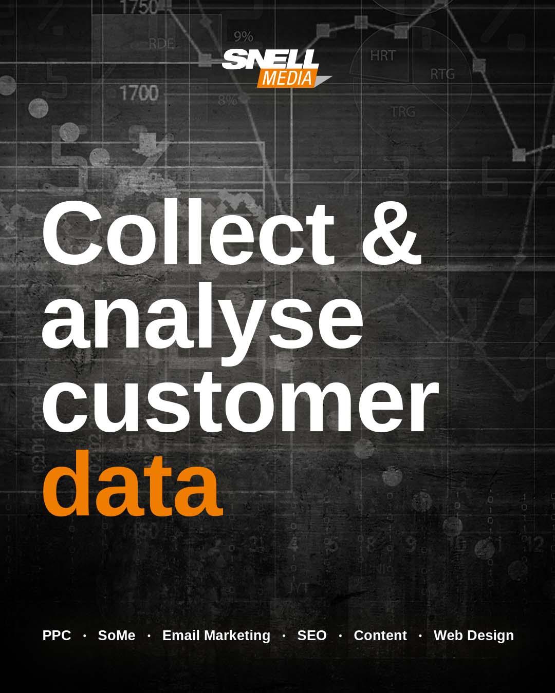 Collect & Analyse Customer Data