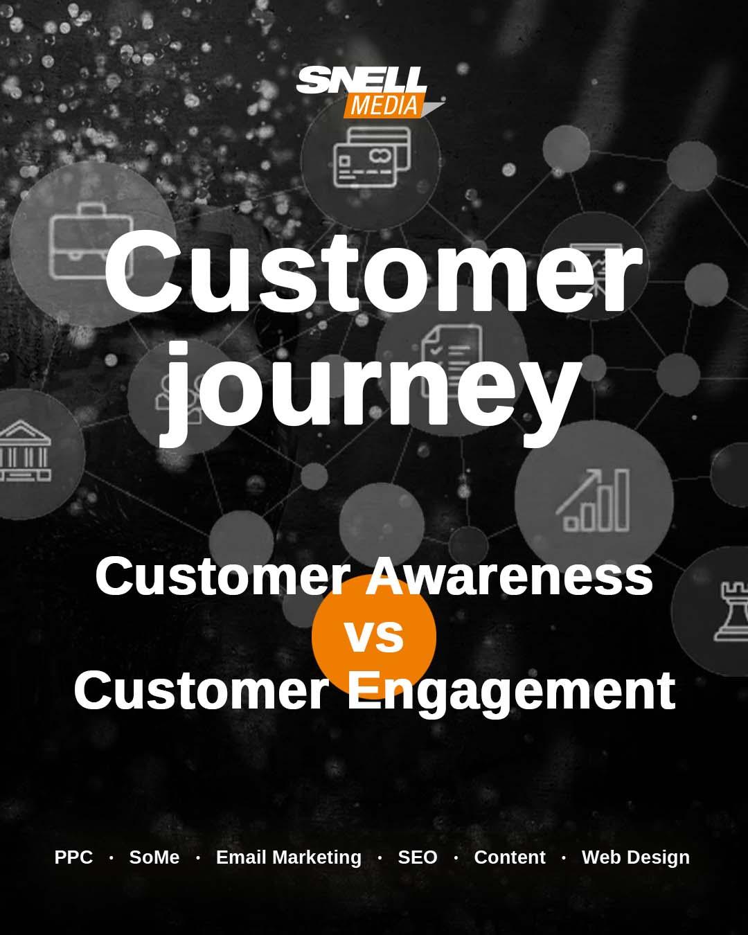 Customer Journey Customer Awareness vs Customer Engagement