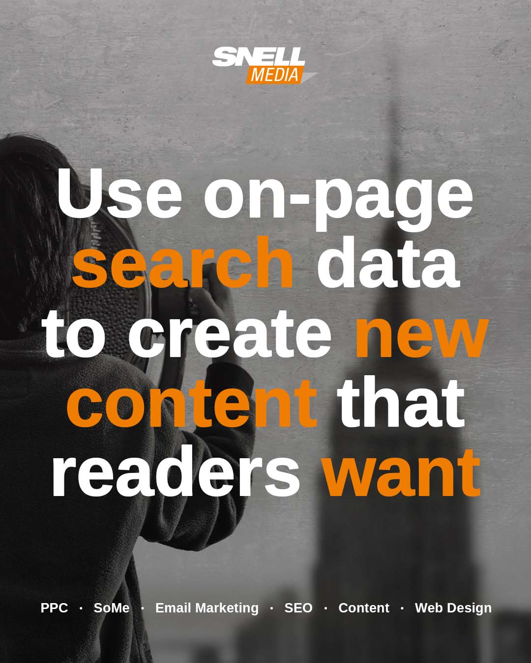 Use On-Page Search Data to Create New Content That Readers Want