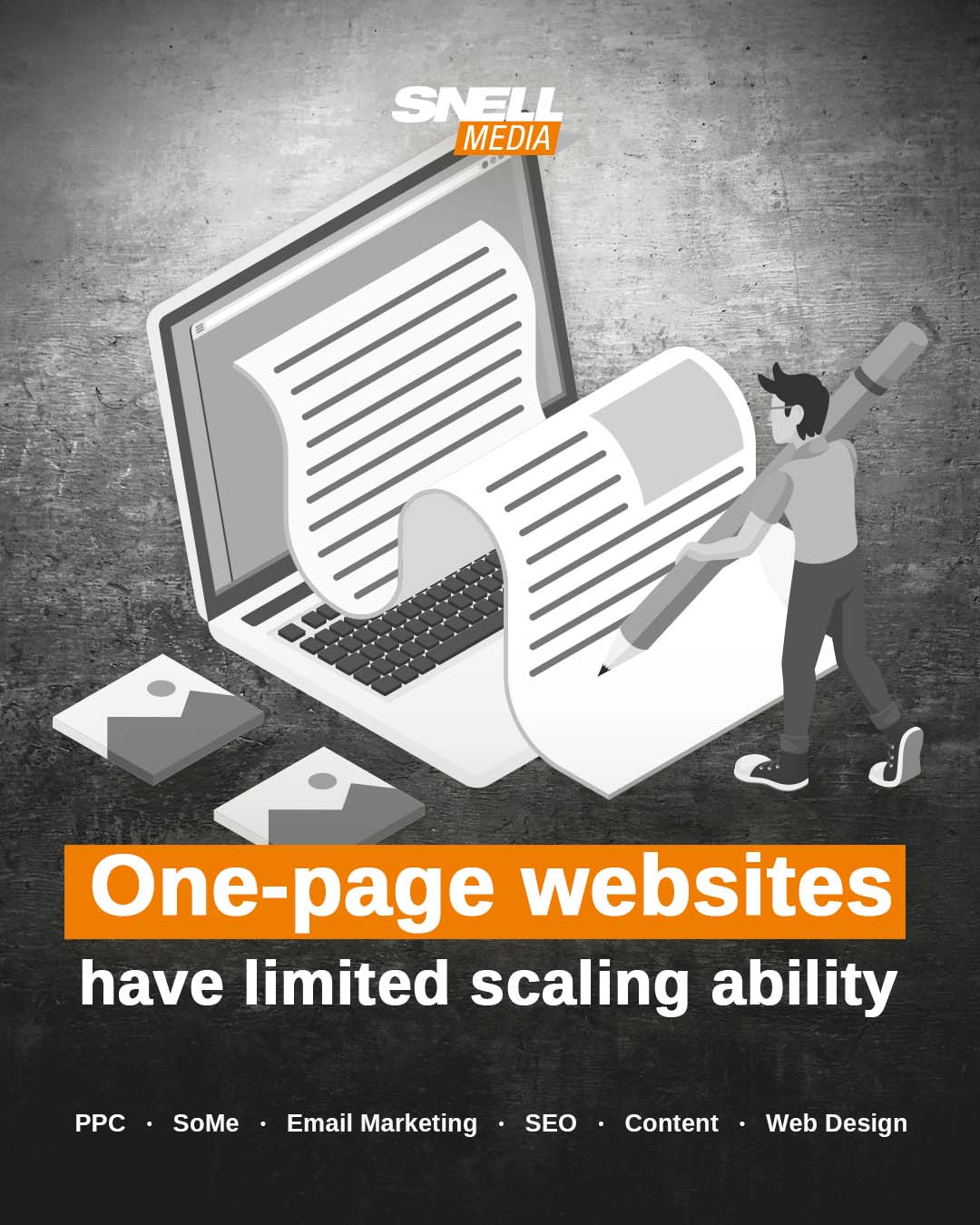 One-page Websites Have Limited Scaling Ability