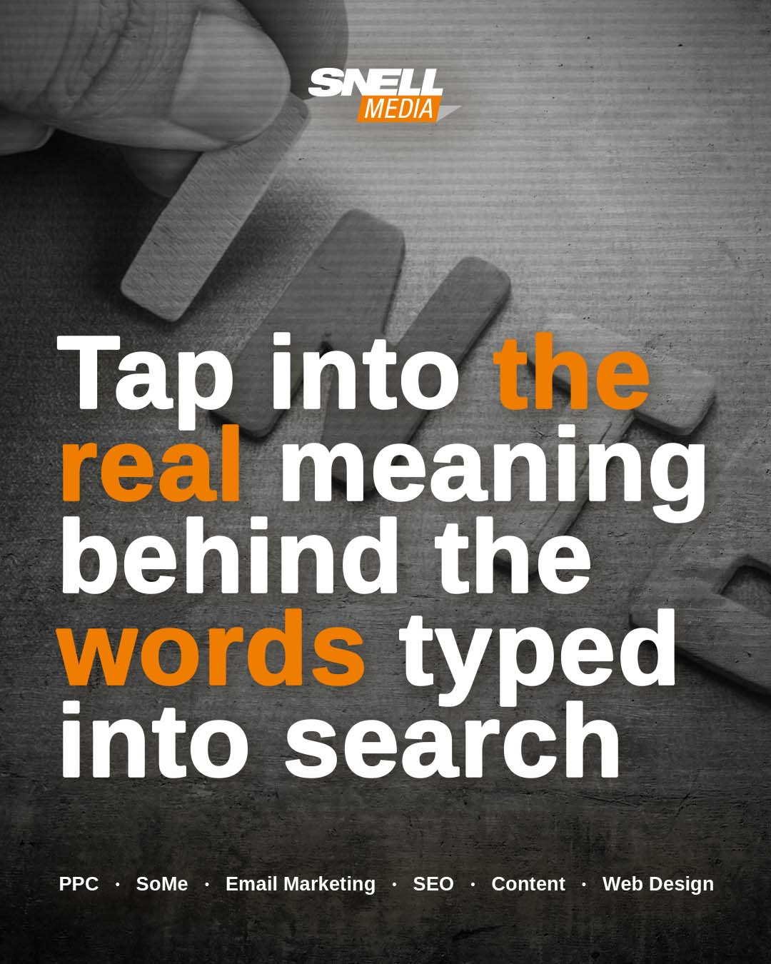 Tap into the real meaning behind the words typed into search