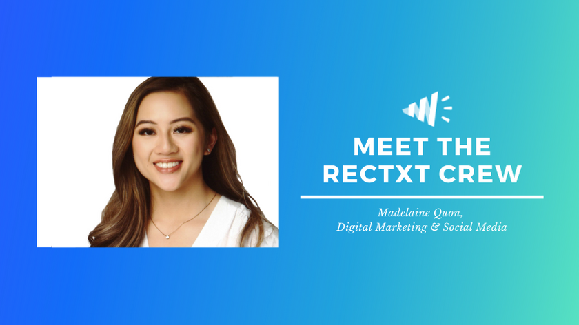 Meet the Rectxt Crew: Madelaine