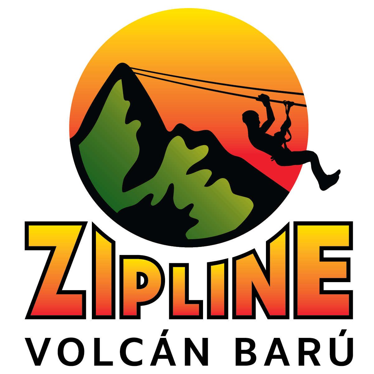 Logotipo de la tirolesa